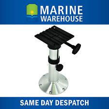Height Adjustable Boat Seat Pedestal - Alloy W/ Nylon Seat Base 480-633mm 40039