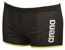 a2f043a730a209 Arena Unisex Square Cut Drag Swim Shorts - Black L 1e36650