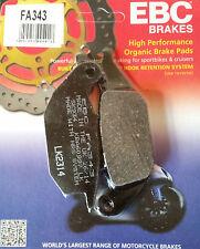 EBC/FA343 Brake Pads (Rear) - Honda CBR125, XL125V Varadero, CBR150