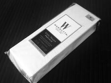 White🦋 KING Fitted Sheet Wamsutta Cool Touch Percale 350 TC Egyptian Cotton