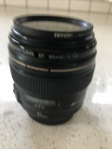 Canon EF 85mm F1.8 USM. Used. EXCELLENT Condition.