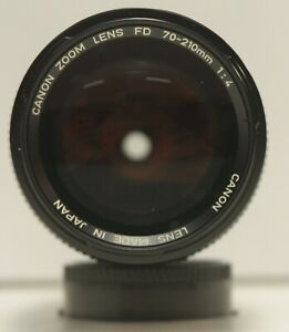 Canon 70-210mm f/4 FD Mount Lens