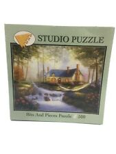 New jigsaw puzzle 500 pc Studio Brookside Garden Bits And Pieces Puzzle it/325