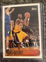 1996-97 Topps Kobe Bryant RC Rookie Card #138 Los Angeles Lakers