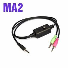4pcs XOX MA2 Live Streaming Adaptor Cable for XOX KS108 K10 Sound Card