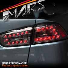 Smoked LED Tail Lights for MITSUBISHI LANCER CJ CF SEDAN 07-18 & EVOLUTION X