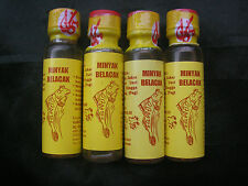 Mudskipper Oil Minyak Belacak Male Genital Enlargement&Blood Flow.4x27ml Bottles