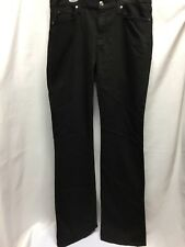 7 FOR ALL MANKIND WOMEN'S KIMMIE BOOTCUT AU0156661C Black washed overdye NWT
