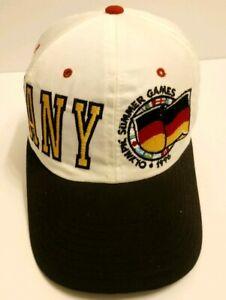 Vintage Starter 1996 Summer Olympics Germany White Snapback Hat