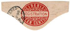 (I.B) Liberia Postal : Registration 10c
