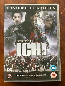 Ichi DVD 2008 Japonais Swordfighting Action Film