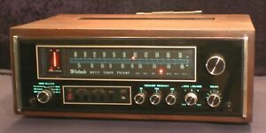 McIntosh MX117 Preamplifier Tuner Stereo Wood Cabinet Case - Rare