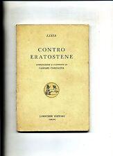 Lisia # CONTRO ERATOSTENE # Loescher Editore 1982 MR