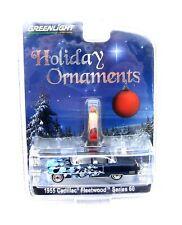 Greenlight 1955 Cadillac Fleetwood Series 60 Holiday Ornaments dunkelblau-metall
