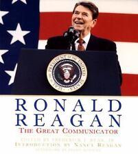Ronald Reagan: The Great Communicator by Ryan, Jr Ed Frederick