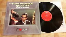 "The Dave Brubeck Quartet ‎– Dave Digs Disney - LP 33 GIRI 12""  CBS ‎– CBS 21060"