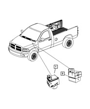 New ListingAnti-Lock Brake System Hydraulic Control Unit - Mopar (68061772Aa)