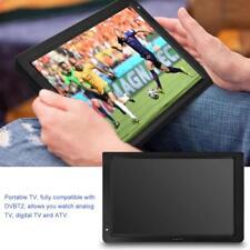 PORTATILE 12 POLLICI TELEVISORE DIGITALE ANALOGICO DVB-T / T2 TV PLAYER PVR USB