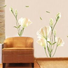 DIY Large lily flower Warm Home Room Mural Arts Decors Wall Stickers Removable
