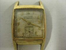 Vintage Mens Baldwin Art Deco Watch Parts/Repair [D23]