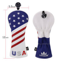 New StarGolf Hybrid Headcover Cover For Callaway Taylormade Rescue Blue UT Cover
