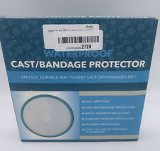 "waterproof cast/bandage protector adult half leg ""Open Box New"""