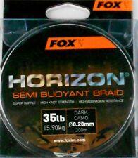 FOX HORIZON SEMI BUOYANT BRAID 35lb 15.9kg 300m 0.20mm DARK CAMO CBL014