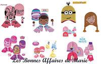 DISNEY MINONS - Bonnet et gants La Reine des Neiges, Princess, Dr La Peluche...