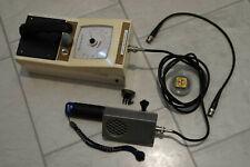 Geiger Counter Ratemeter with Pancake Probe Alpha Beta Gamma Radiation detector