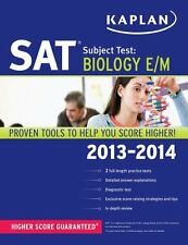 Kaplan SAT Subject Test Biology E/M 2013-2014 (Kaplan Test Prep) by Kaplan