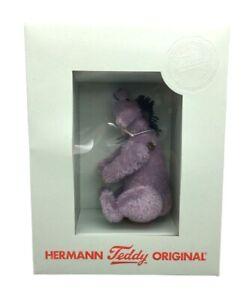 Rare Hermann Teddy Limited Edition EYORE Winnie The Pooh Miniature in Box