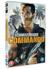 COMMANDO - THEATRICAL CUT - DVD - REGION 2 UK