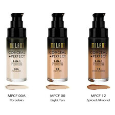 """3 MILANI Conceal + Perfect 2-in-1 Foundation + Concealer """"Pick Your 3 Color"""" Joy"""