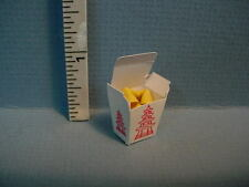 Dollhouse Miniature Fortune Cookies in Chinese Take Out  #F231