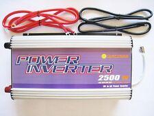 2500/5000W Stackable Power Inverter 12V DC TO 120V AC