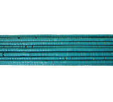 Stabilized Turquoise Heishi Beads (4 mm , 24 Inches Strand)