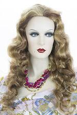Luxurious Long Wavy - Curly wig Blonde Brunette Red Wavy Curly Wigs 24In Long