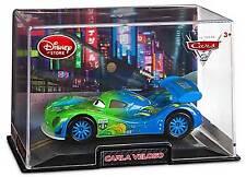 Disney Store Pixar Cars 2 Carla Veloso Die Cast Car In Collector's Case