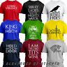 HOLD THE DOOR HODOR WINTER IS COMING crows JON SNOW Game Of Thrones Gift T-Shirt