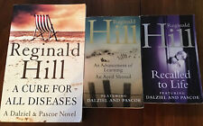 REGINALD HILL DALZIEL & PASCOE BUNDLE x 3 PAPERBACK BOOKS. Inc 2 In 1 BOOK