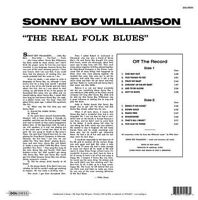 SONNY BOY WILLIAMSON-The Real Folk Blues (180 gram) Vinyl LP-Brand New-Still ...