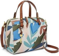 NWT Fossil Rachel Crossbody Satchel Natural Floral Handbag ZB7314124 $138 Bag