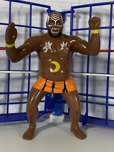 WWF LJN Kamala Near Mint!! Vintage Titan Sports