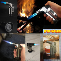Cigar Torch Triple Jet Flame Lighter Windproof Refillable Butane Gas Lighters US