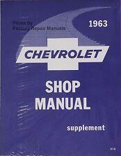 service repair manuals for 1963 chevrolet impala for sale ebay rh ebay com