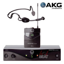 AKG WMS 45 Perception Wireless Hands-Free Mic Headset Sports Dance PA Microphone