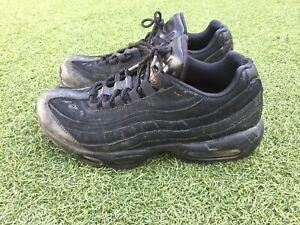 Men's Nike Air Max 95 Black Size UK 9 Used Worn Trashed