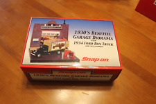 SNAP-ON TOOLS 1930'S BENEFIEL GARAGE 3 LIGHTS ON BLDG 1934 FORD Truck Diorama