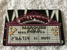 1997 Vintage Sands Casino & Resort Raised Letters Slot Card Atlantic City