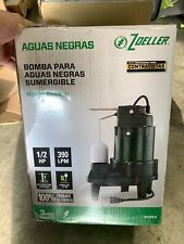 Zoeller 12 Hp 103gpm Submersible Cast Iron Sewage Pump 1263 Free Ship Read